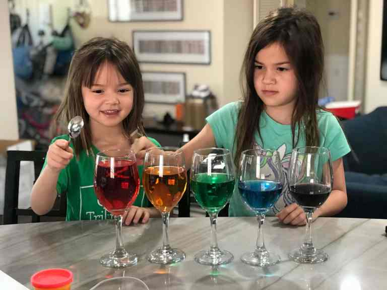 Oasis Homeschool Rainbow Glasses