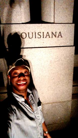 """""""ouisiana""""...The closest Antonio gets to Louisiana throughout the academic year."""
