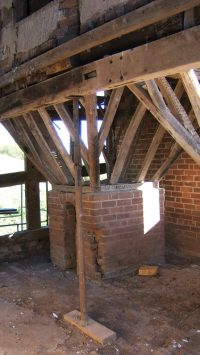 Furnaces and air currents - Oast and Hop Kiln History