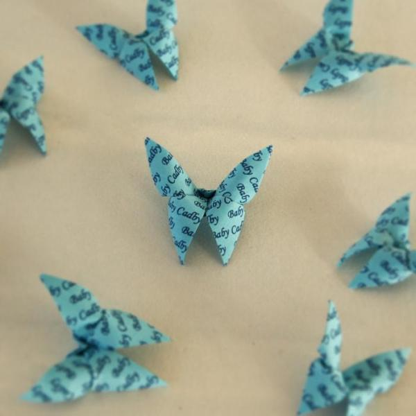 Origami-Butterfly-Baby-Boy-Party-Baby-Shower-Table-Scatters-Confetti-Handmade-Blue-Oast-House-Gifts