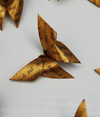 Origami-Butterfly-Wedding-Anniversary-Party-Table-Scatters-Confetti-Handmade-Gold-Closeup-Oast-House-Gifts