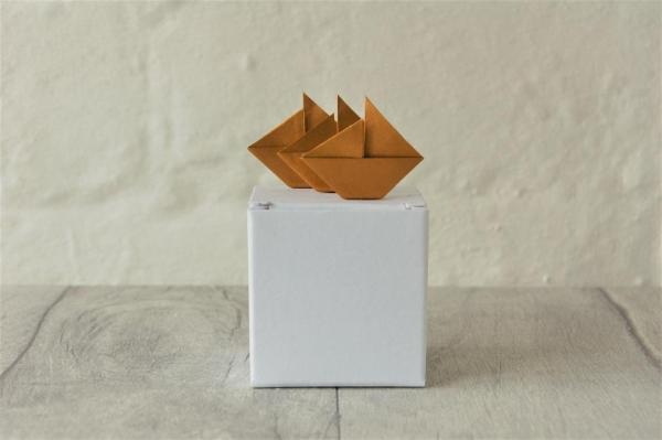 Budget-Box-Origami-Gold-Boats-Oast-House-Gifts