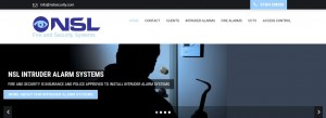 wordpress website design for dover security company
