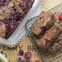 Cranberry Sauce Sticky Bread + a turkey of a tale