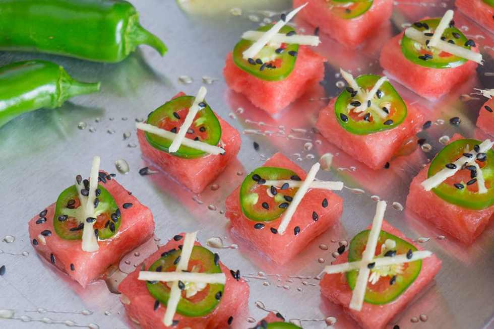 Watermelon Sashimi 2