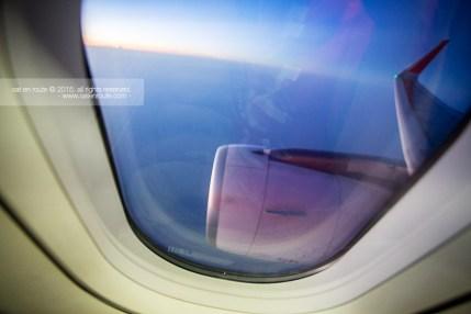 Sunrise on the Jet Plane