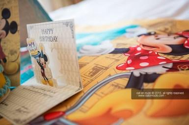 Surprised BD at HK Disneyland Hotel