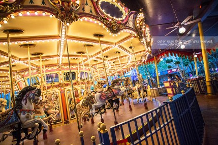 "Twilight Time at ""Cinderella Carousel"""