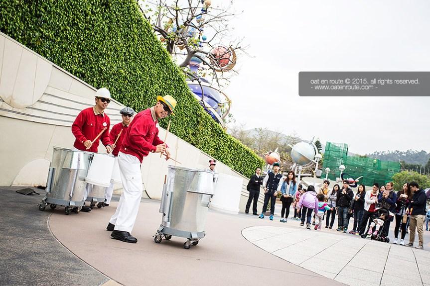 The Jammitors - Street Entertainment at Tomorrowland