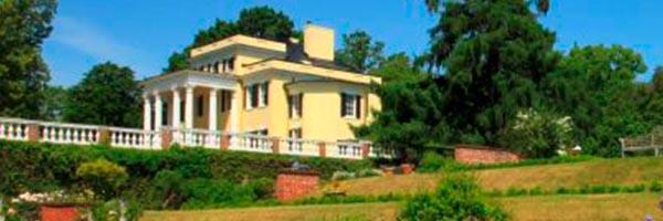 Mansion From Garden