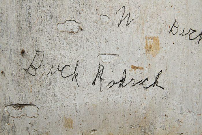 Garden shed Buck Rodrick