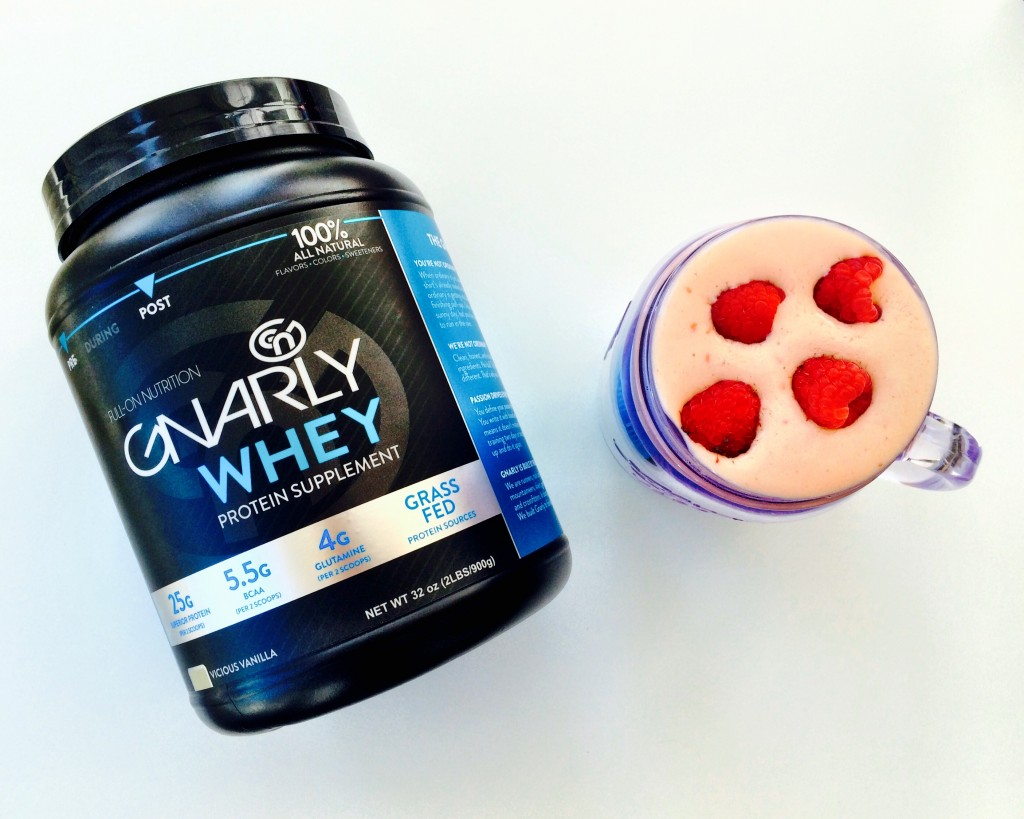 Gnarly Nutrition Review + Coconut Mango Raspberry Smoothie