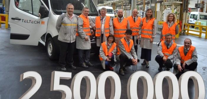 2,5-milionowy Master z fabryki Renault w Batilly dla polskiej firmy