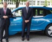 BMW i3 we flocie Ambasady Niemiec w Polsce