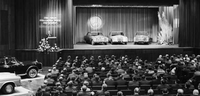 50 lat limuzyn Mercedes-Benz W 114/W 115