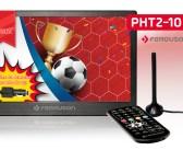 NOWOŚĆ   Ferguson PHT2-10 – Nieduży, poręczny telewizor przenośny z tunerem DVB-T/T2 idealny na wakacyjne wypady