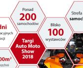 13-ta edycja AUTO MOTO SHOW w Sosnowcu już 9-10 czerwca 2018