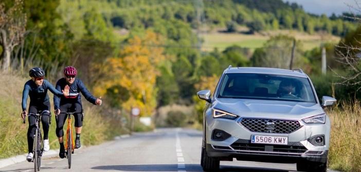 SEAT Tarraco: samochód, który dba o rowerzystów