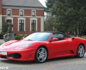 Ferrari F430 Spider – 2007 – 429.000 PLN – Klasyczny wygląd, nowoczesne technologie.