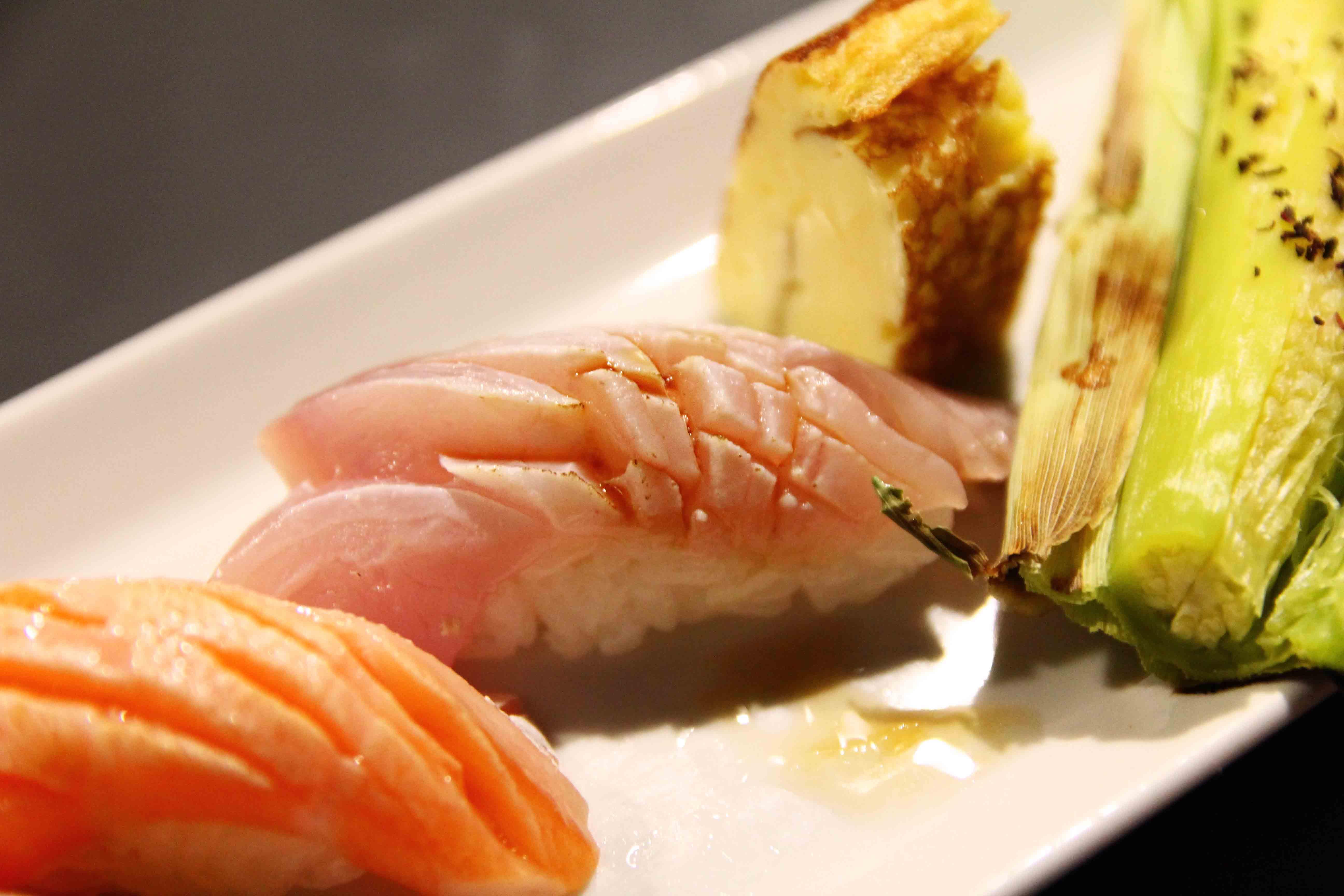 [臺北松山] 漁聞樂 - 名字很逗趣的無菜單日式料理   新樂街口的三角窗