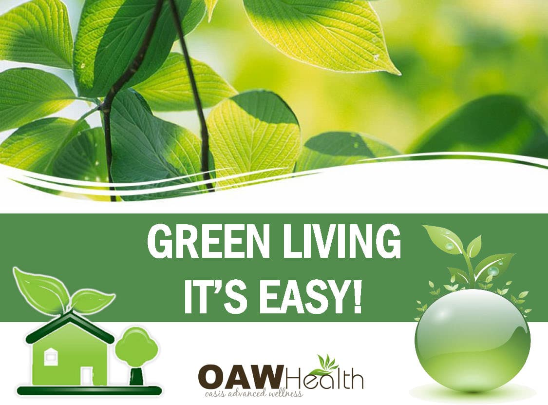 Green Living – It's Easy!