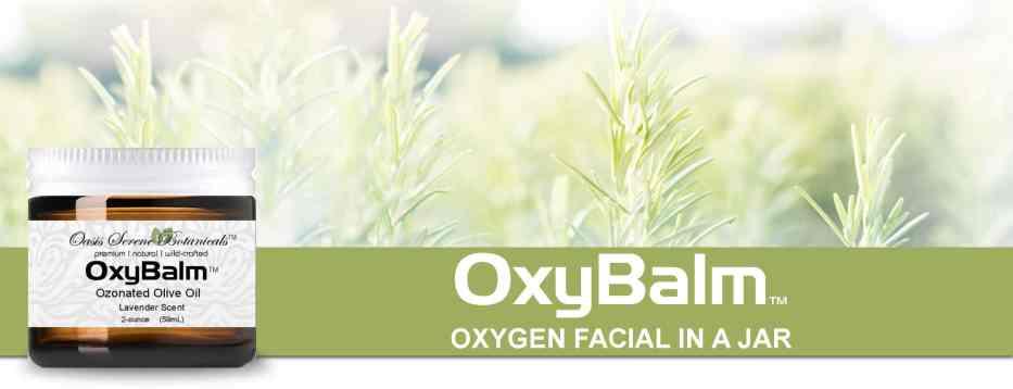 OxyBalm Ozonated Olive Oil