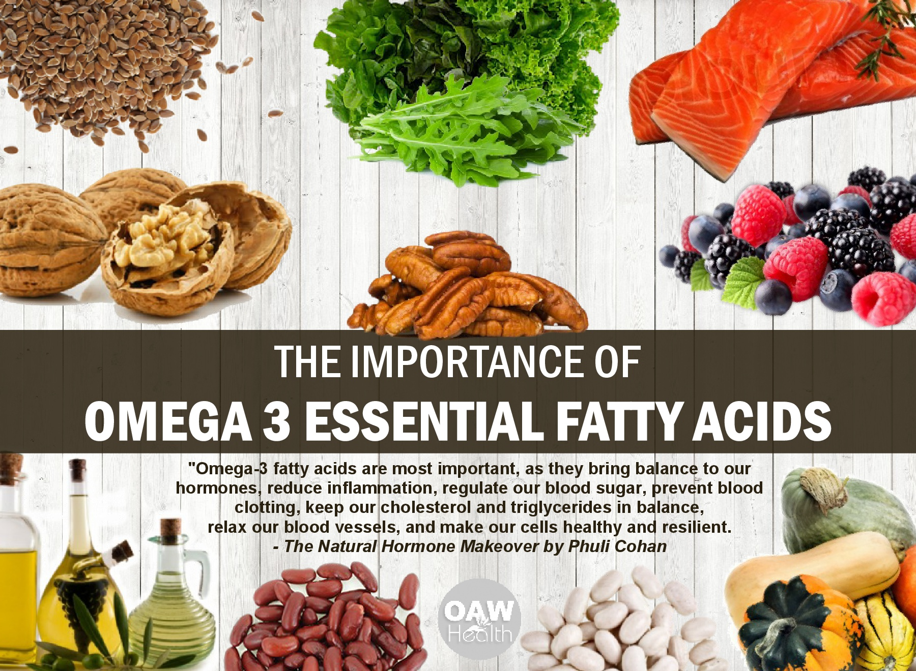 Importance of Omega 3 Fatty Acids – Natural Health Quotes