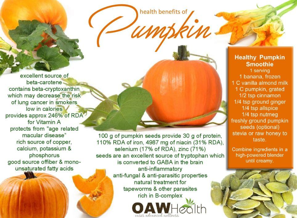 13 amazing health benefits of pumpkin
