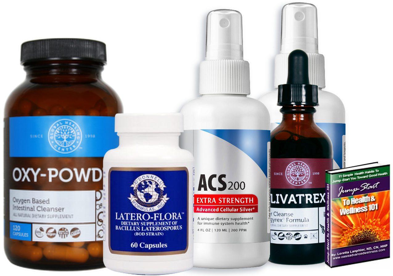 Optimum Wellness Total Body Advanced Cleansing Kit