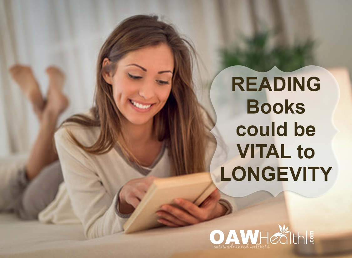 Reading Books Could be Vital to Longevity