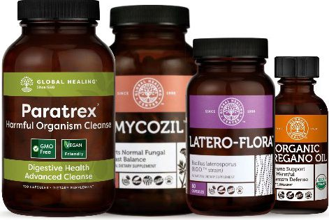 Optimum Wellness Harmful Organism Cleanse Kit
