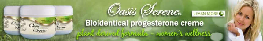 Oasis Serene Bioidentical progesterone creme