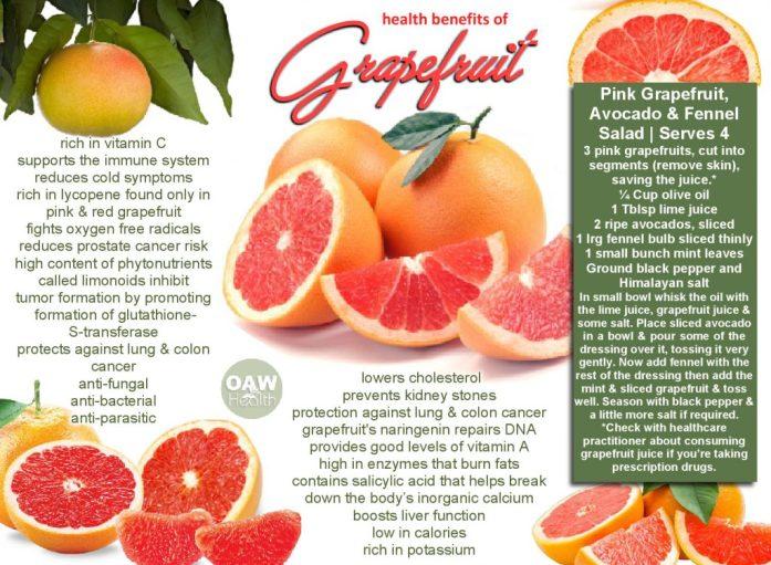 reasons to eat grapefruit