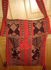 Santo Tomas Jalieza Purse, backstrap loom