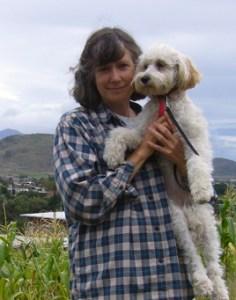 Annie y perro Ani