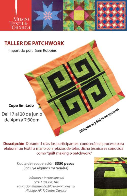 Museo Patchwork Workshop