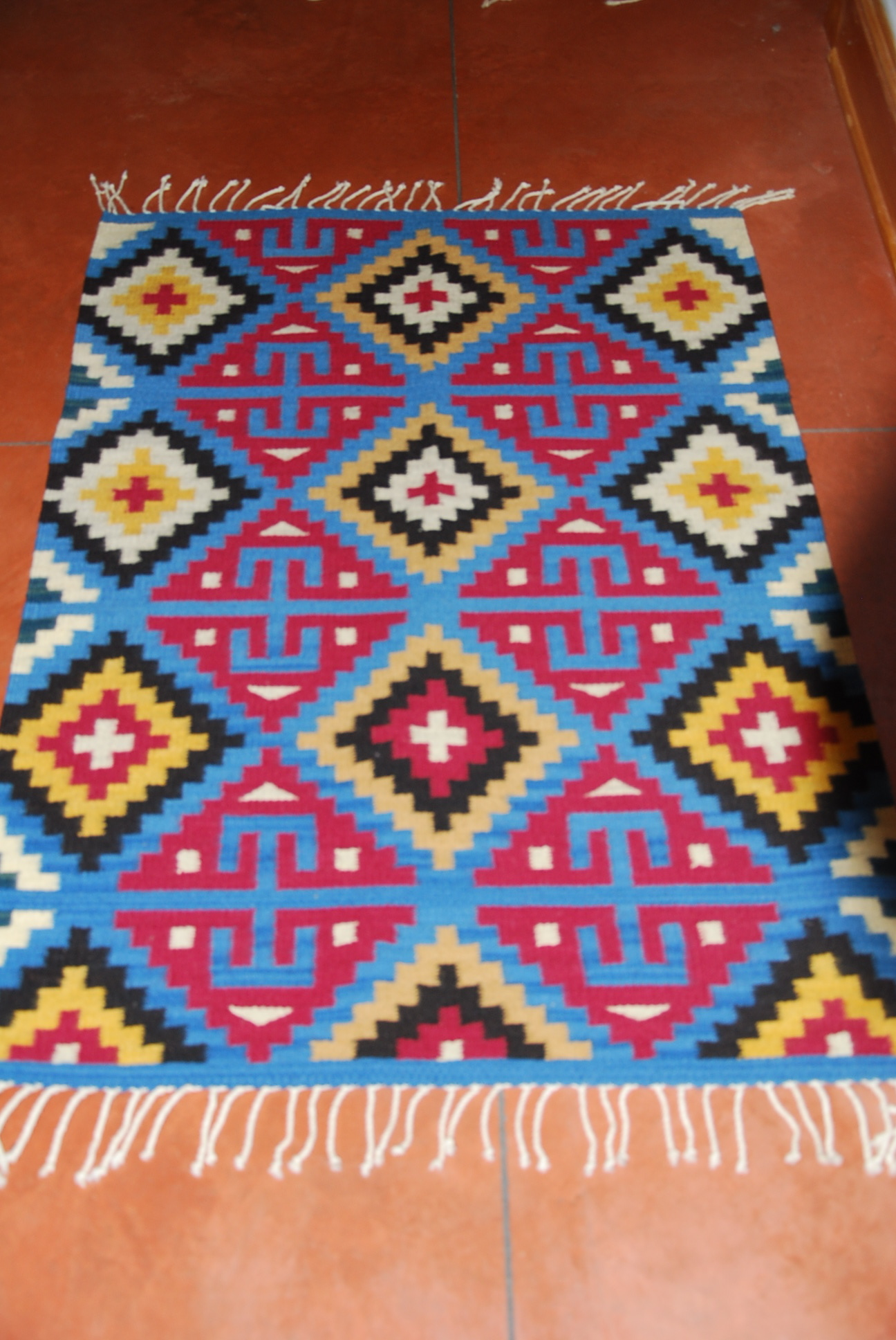 Oaxaca Mexico Rugs For Sale Handwoven with Natural Dyes