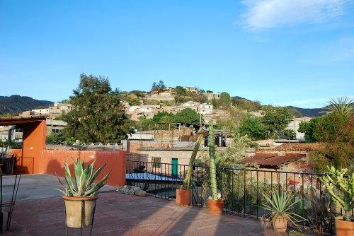 Rooftop View of Teotitlan del Valle from Las Granadas