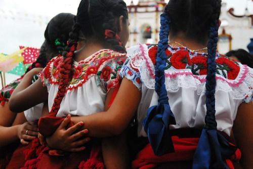 Teotitecas, parade of the canastas