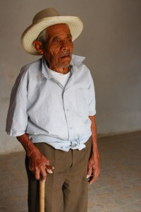 Photography Portrait Of An Aging Weaver Keeping The