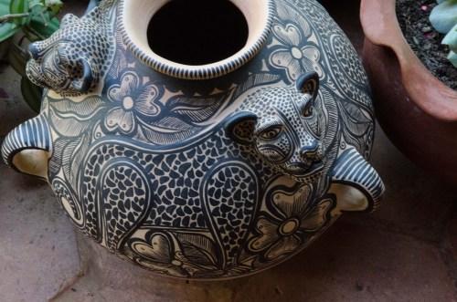 Jaguar pot, Amantenango, Chiapas