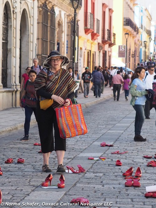 Along the Andador, Oaxaca's walking street