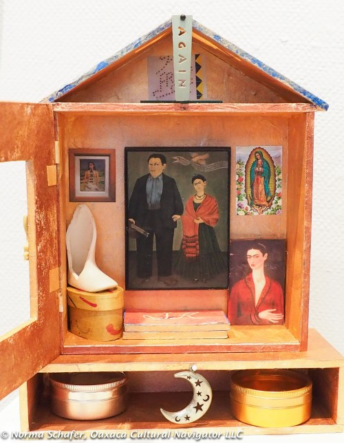 Shrine to Frida Kahlo by Hollie Taylor