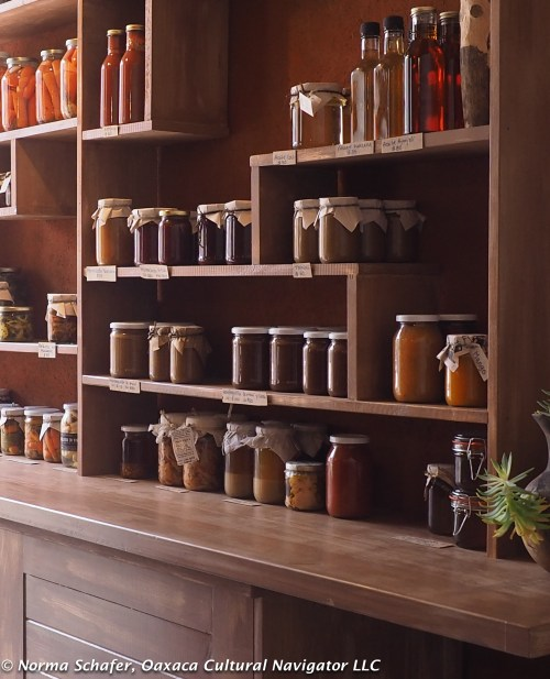 Jars of succulent condiments to top, marinate and savor