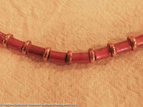 #14. 2-tone copper necklace from Michoacan, $65 USD