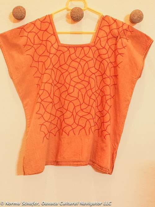 Crop top from Remigio Mestas' Los Baules de Juana Cata, $65 USD