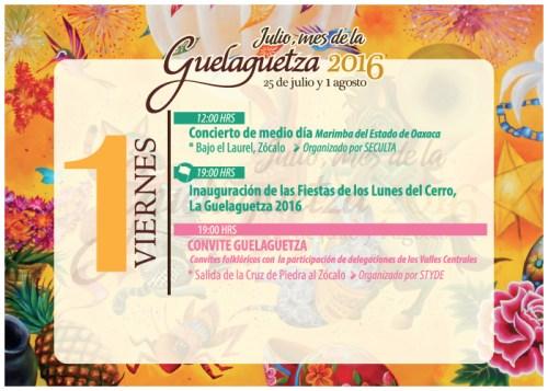 Guelaguetza, Oaxaca 2016