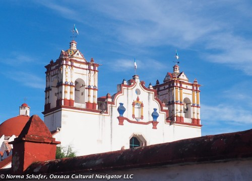 Preciosa de Sangre de Cristo Church, Teotitlan del Valle