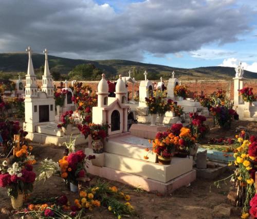 San Martin Tilcajete cemetery, by Karen Nein