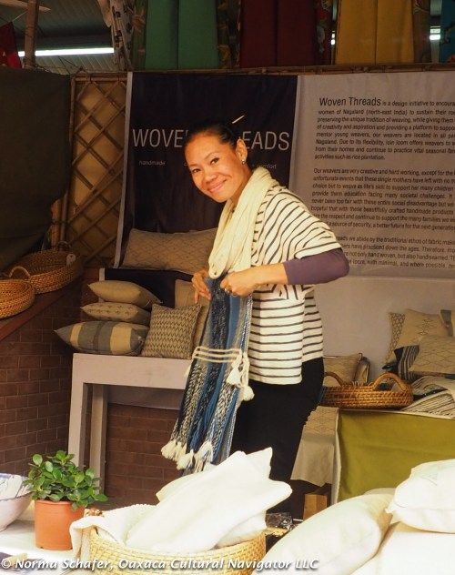 Margaret Zinyu of Woven Threads
